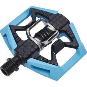 Crankbrothers Double Shot 2 Pedaler, black/blue